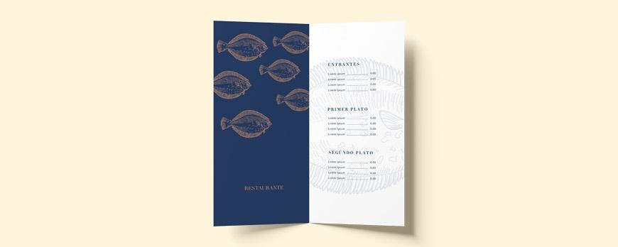 Cómo diseñar una Carta de Restaurante